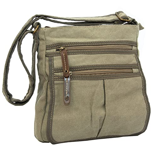 Man Bags for Men Flight Shoulder Cross Body Satchels Small Fashion Day Bag  in Canvas ( 99b818b013