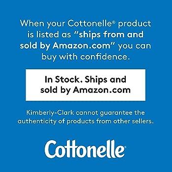 Cottonelle XL Flushable Wipes, Extra Large, 4 Flip-Top Packs, 60 Wipes per Pack (240 Total Flushable Wipes)