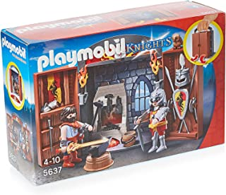 Playmobil Knights Armory Play Box - 4 Years and Above