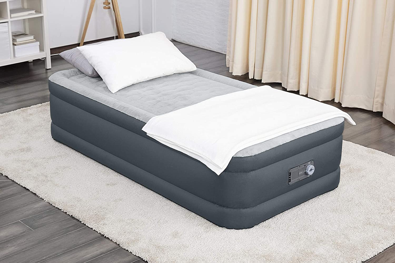 SLEEPLUX Twin Air Mattress Supersoft Extra Very popular Snugable Save money Durab Top