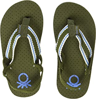 United Colors of Benetton Boy's 19a8cffpb492i Flip-Flops