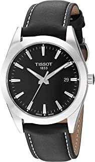Tissot Mens Gentleman Swiss Quartz Stainless Steel Dress Watch (Model: T1274101605100)