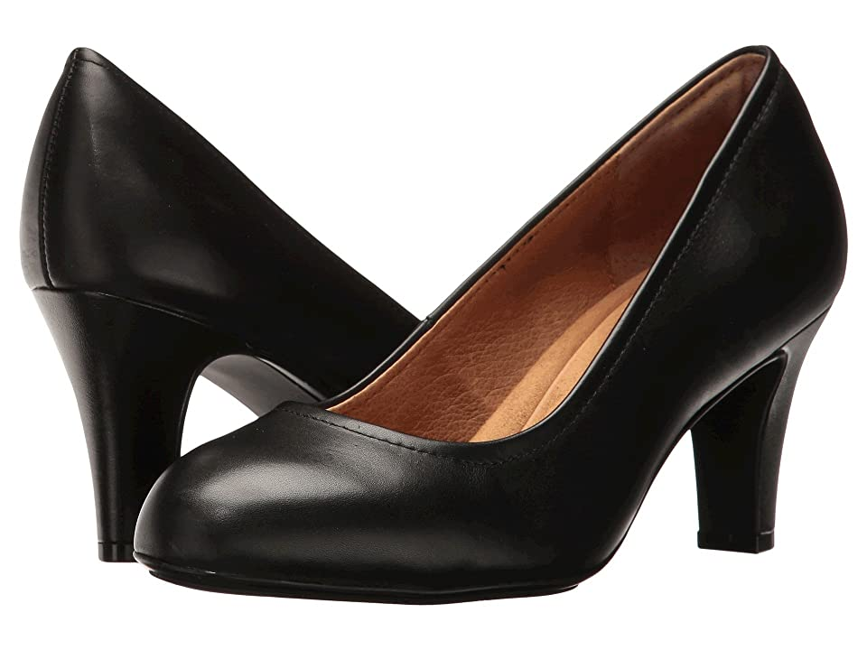Sofft Turin (Black Cow Quilin) High Heels