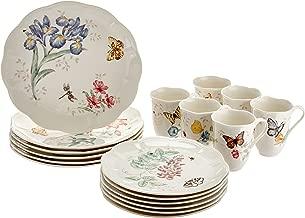 Lenox Butterfly Meadow 18-Piece Dinnerware Set, Service for 6, White - 6342794