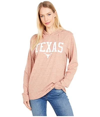 289c Apparel Texas Longhorns Zophar Hooded Tee (Texas Orange) Men