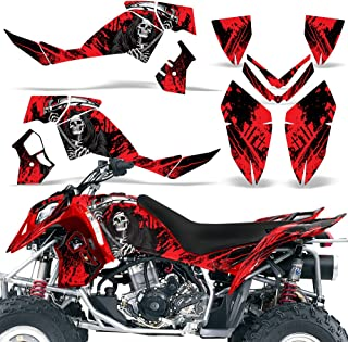 Polaris Outlaw500 Outlaw525 2006-2008 Decal Graphic Kit ATV Quad Wrap Deco Outlaw 500 525 REAPER RED