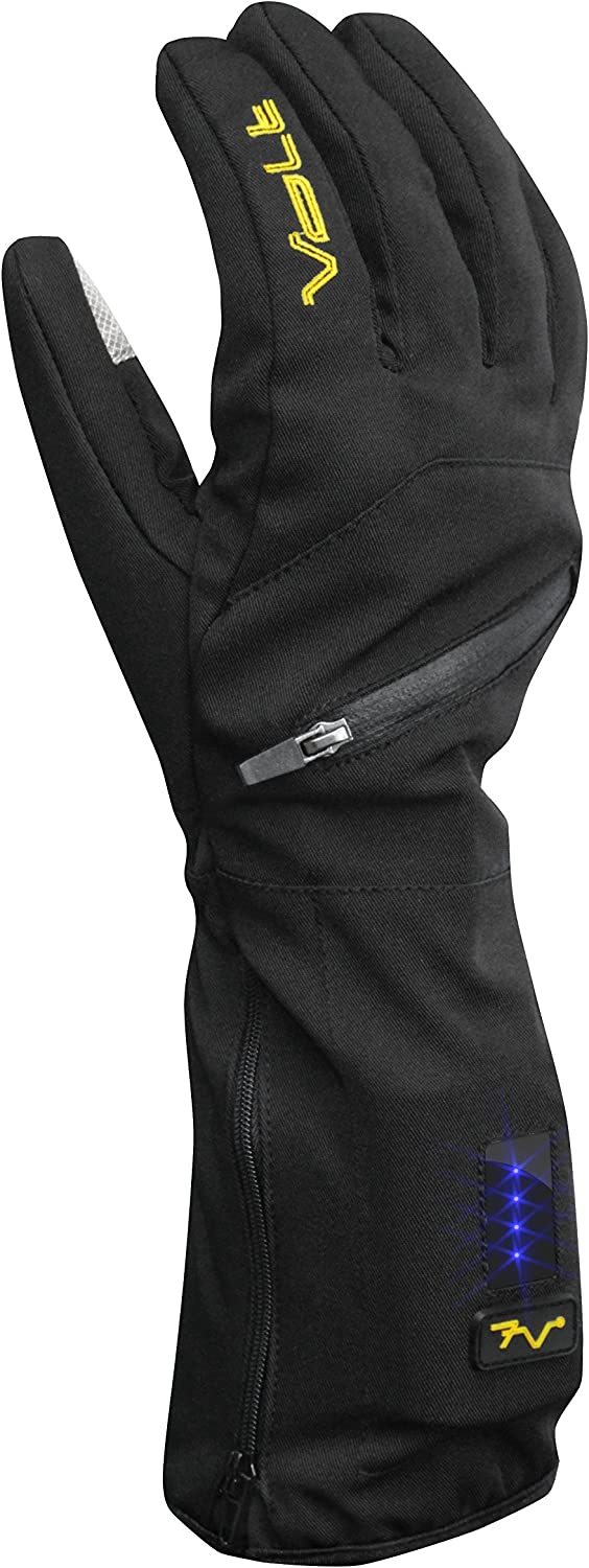 Insulated Heated Glove Liner by Volt, Touchscreen fingertips for mobile device,