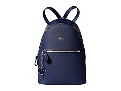Lacoste Daily Classic Backpack (Peacoat Blue) Backpack Bags