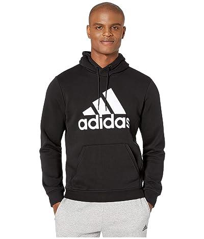 adidas Must Have Badge of Sport Fleece Crew (Black/White) Men
