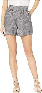 [トゥーバイビンスカムート] レディース ハーフ&ショーツ Cross Dye Linen Two-Pocket Shorts [並行輸入品]