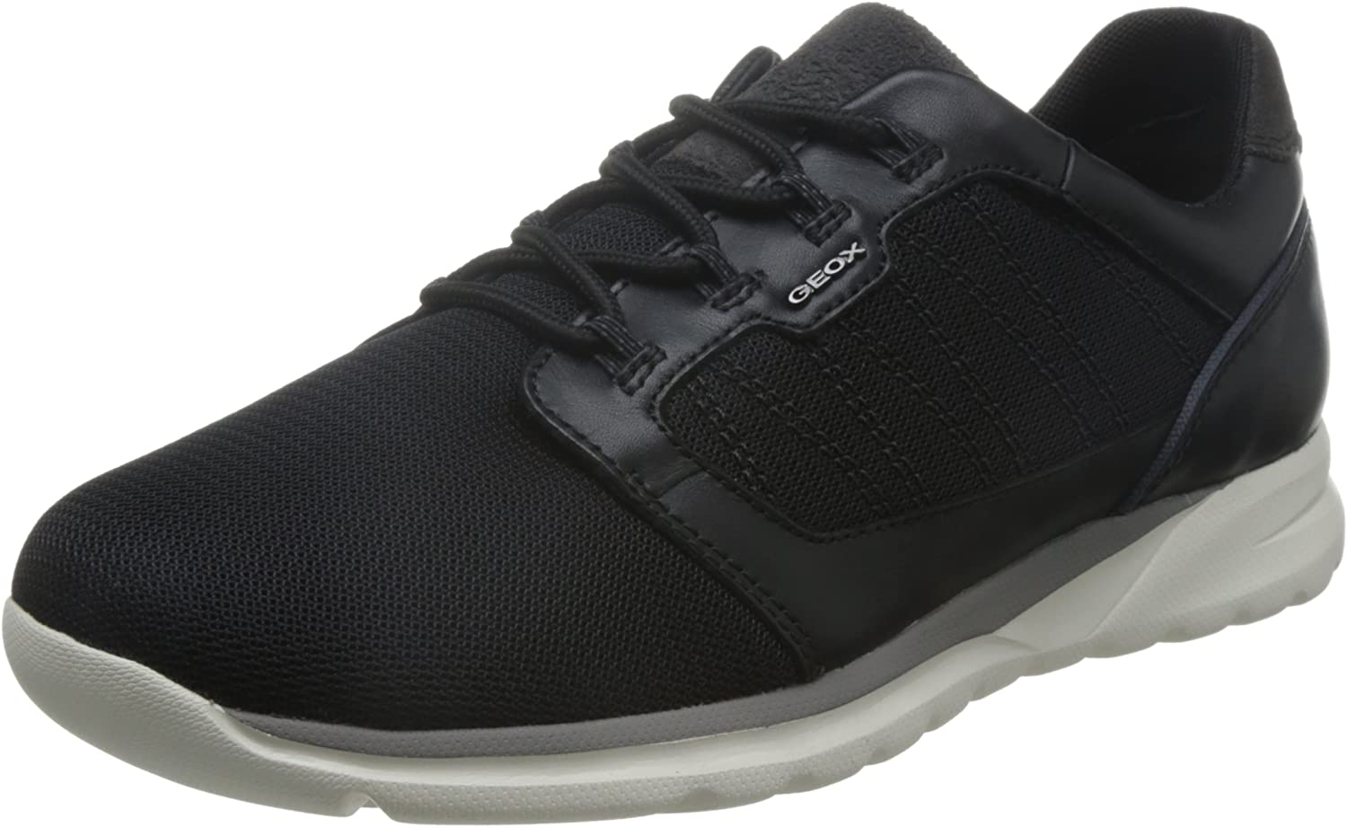 SHOE GEOX U720HA 01485 C9999 U DAMIAN BLACK