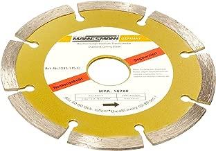 Mannesmann M 1245-178 Diamond Cutting Disc Segmented 180 mm Diameter