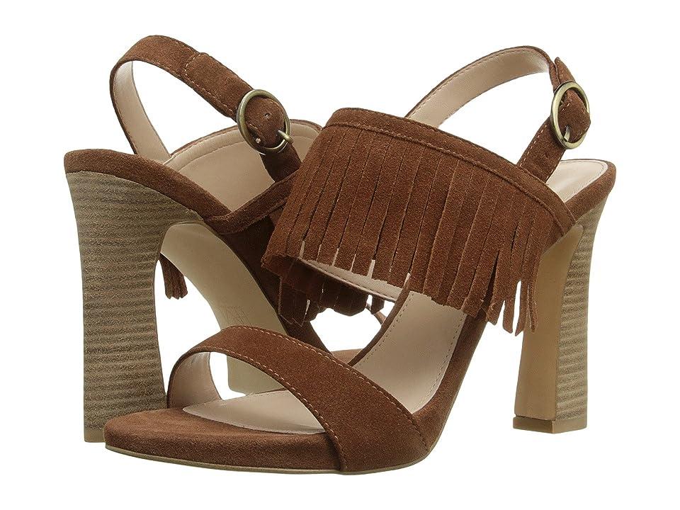 Pelle Moda Nora (Cognac Suede) High Heels