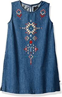 Lucky Brand Girls' Sleeveless Fashion Dress