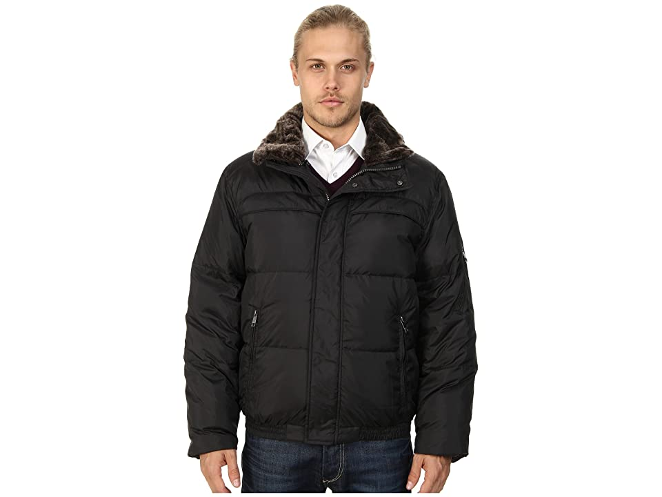 Marc New York by Andrew Marc Fauxmula Down Jacket (Black) Men