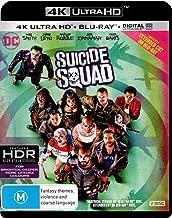 Suicide Squad 4K UHD Blu-ray   NON-USA Format   Region B Import
