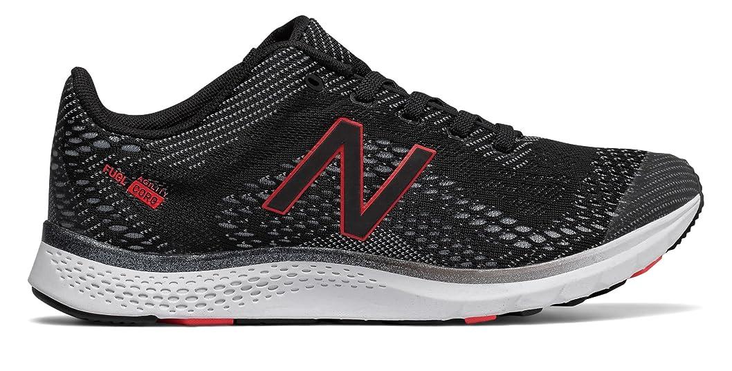 割り当てリム確立します(ニューバランス) New Balance 靴?シューズ レディーストレーニング FuelCore Agility v2 Black with Ruby ブラック US 8.5 (25.5cm)