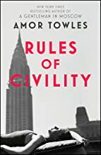 Rules of Civility (English Edition)