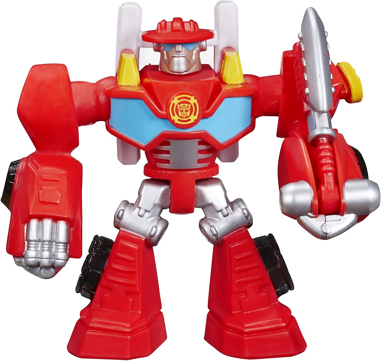 Playskool Helden Transformers Schutz Bots Heatwave the FeuerBot Figur