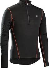 Bontrager B3 Zip Fahrrad Funktionsunterhemd lang schwarz 2019