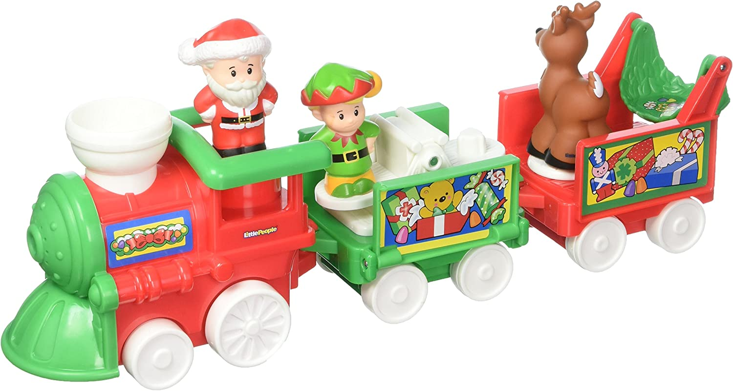 FisherPrice Little People Musical Christmas Train