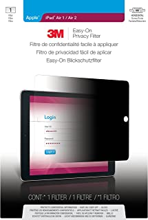 3M Easy-On Privacy Filter for Apple iPad Air 1 / Air 2 Landscape (EOTAP002)