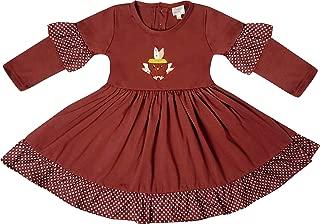 AMK Boutique Clothing Girls Fall Winter Holidays Thanksgiving's Day Turkey Dress Set