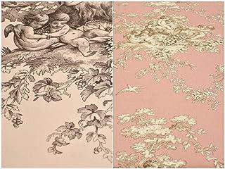 Tessuto toile de jouy in cotone 100%