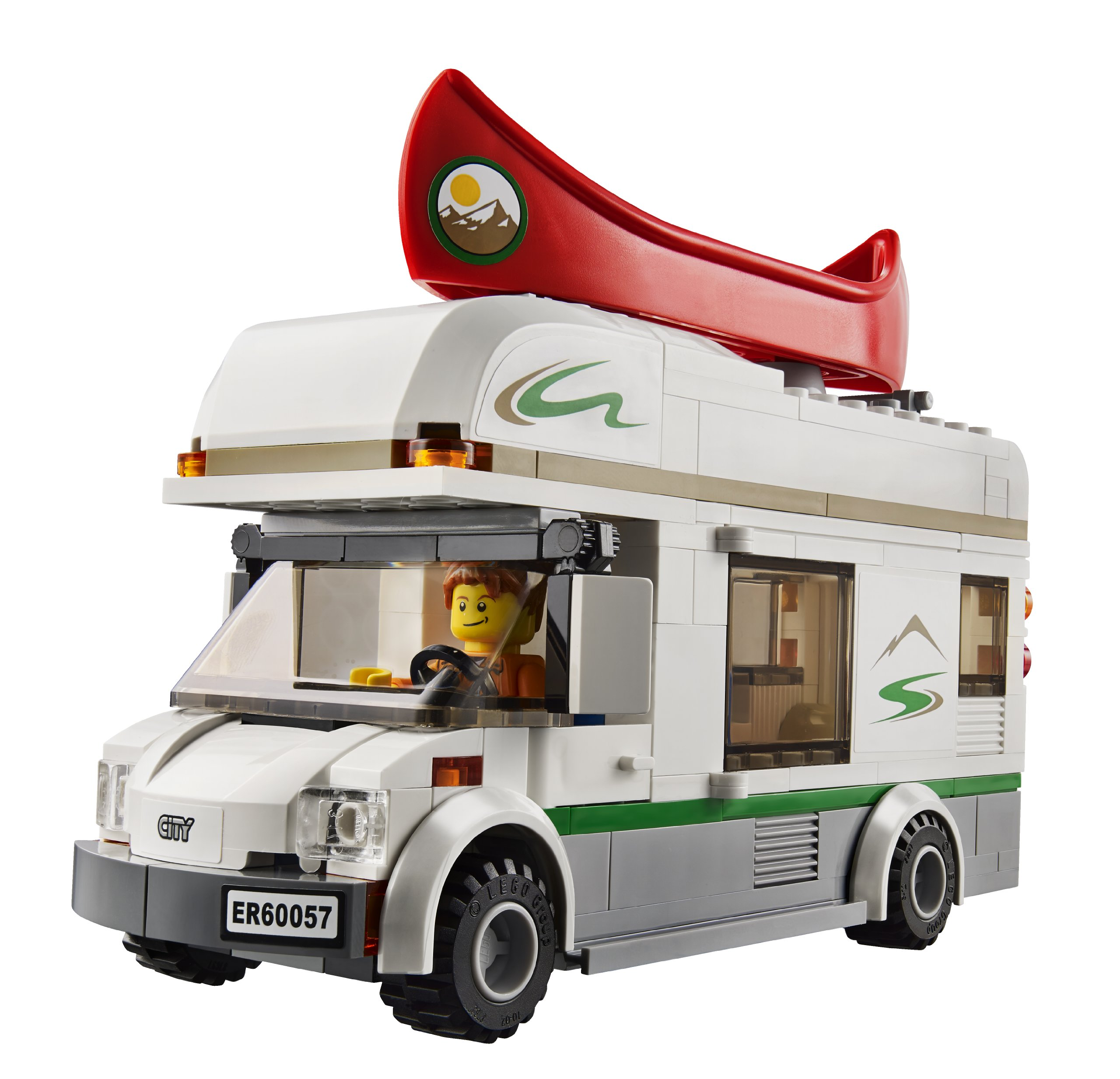 Retired 2014 #60057 NEW LEGO City Camper Van