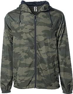Men's Lightweight Windbreaker Winter Jacket Water Resistant Shell