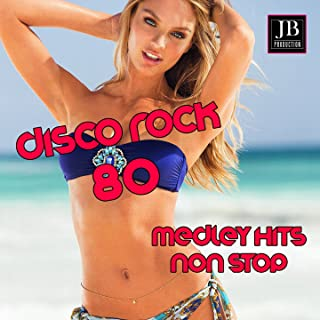 Disco Rock '80 Medley: Voices / The Look / Two Princes / Love in Elevator / Walk Like an Egyptian / Fight for Your Right / Mony Mony / Locomotion / High on Emotion / Sausolito Summernight / Venus / Fox on the Run / What's the Colour of Money / Beat the Cl