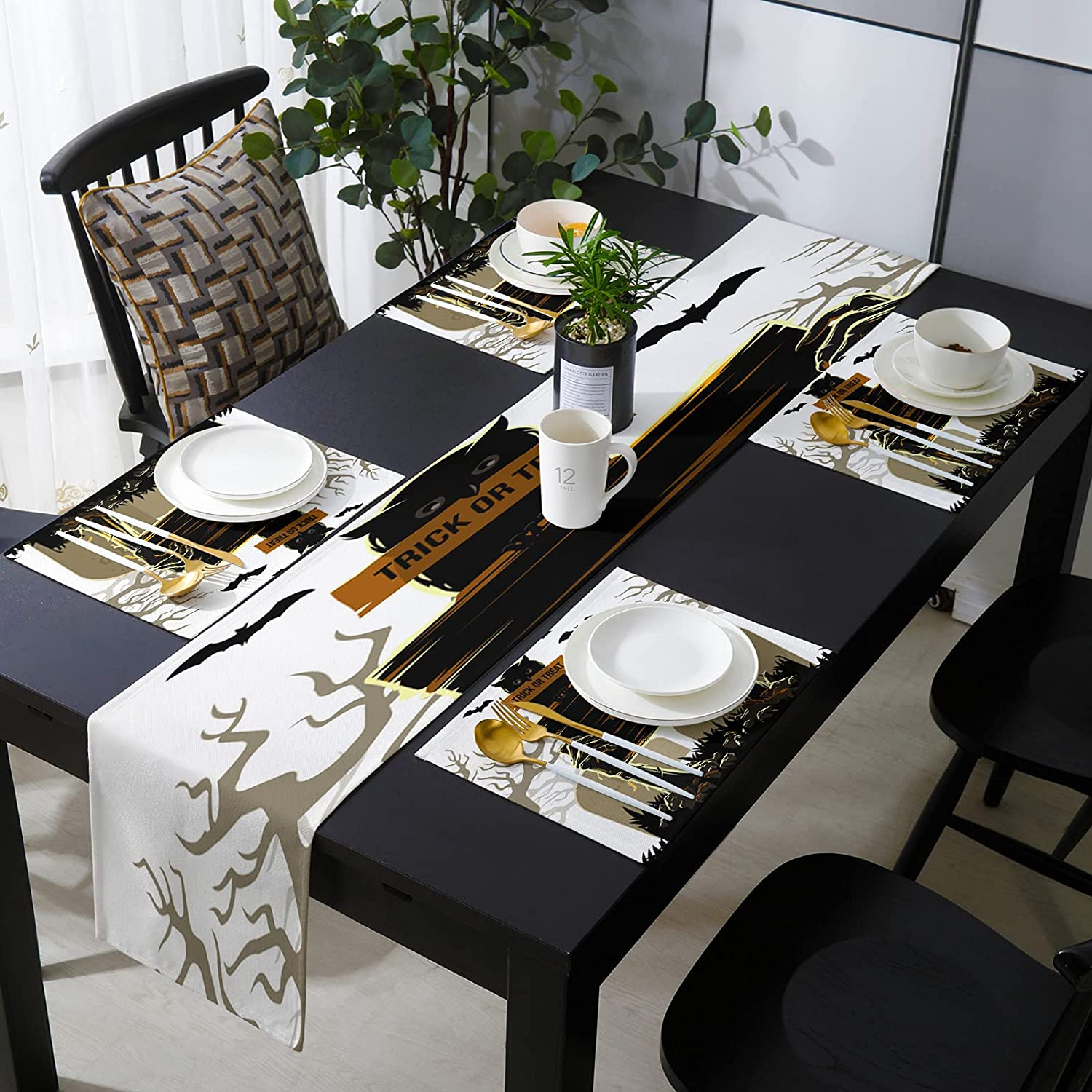Fantasy Staring Some reservation 13 x 90 Max 67% OFF Inch of Placemats with Set Runner Table