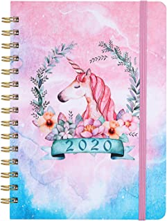 2020 Planner - Weekly, Monthly and Yearly Planner with Prelabeled Monthly Tabs, Thick Premium Paper, 6.3