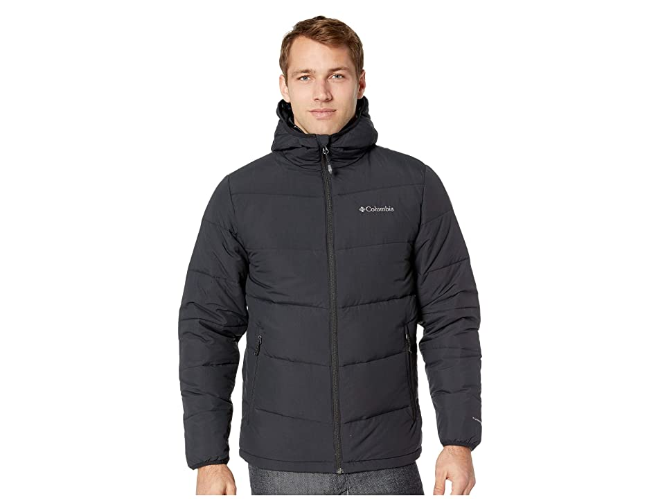 Columbia Lone Fir 650 Turbodown Hooded Jacket (Black) Men