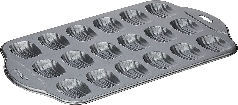 Norpro New Non Stick Mini 18 Pan Cake Madeleine Be Sponge Shells Sale Special Price Max 76% OFF