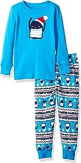 Gymboree 男孩 2 件套棉质紧身睡衣