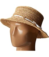 Hat Attack - Raffia Drawstring Crusher
