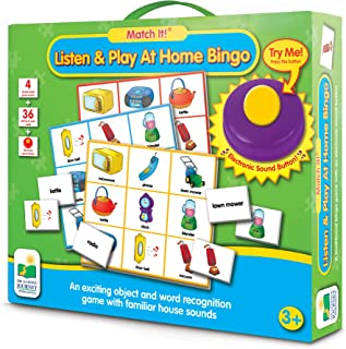 The Learning Journey Listen And Play Zoo Bingo Electronic Toy - 3 Years And Above, For 3 Years & Above