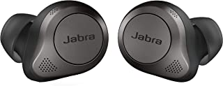 Jabra Elite 85t True Wireless Bluetooth Earbuds, Titanium Black – Advanced Noise-Cancelling Earbuds with Charging Case for...