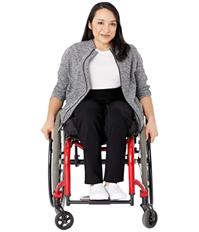 Seven7 Adaptive Seated High-Rise Ponte Leggings w/ Two Zippers in Caviar (Caviar) Women