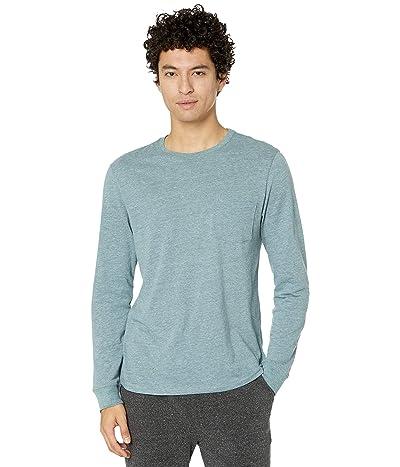 Threads 4 Thought Tri-Blend Long Sleeve Pocket Tee (Dark Spruce) Men