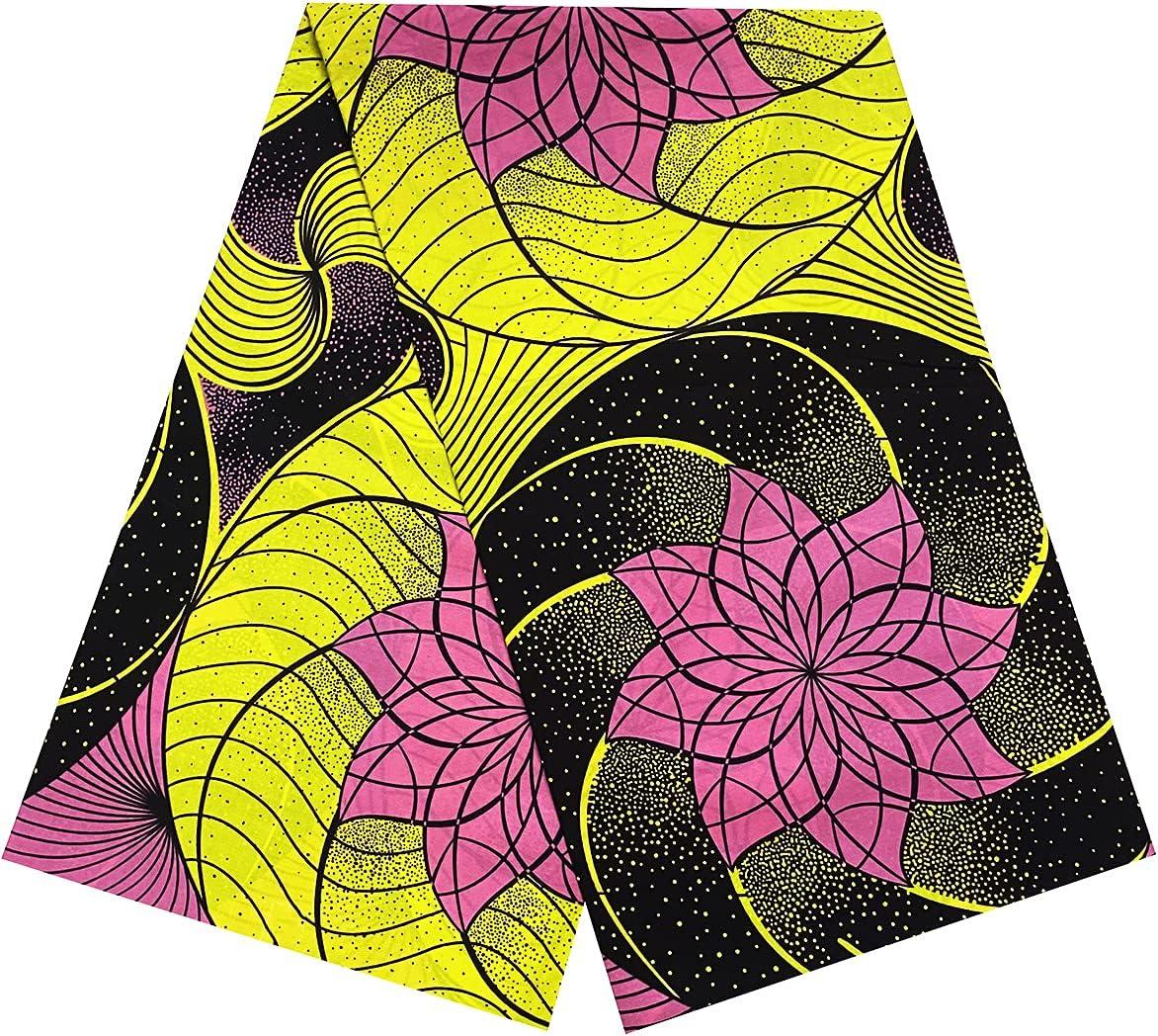 Alina Belle African Print Colorado National uniform free shipping Springs Mall Wax Cotton 6 Ankara Yard Fabrics