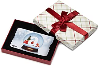 Amazon.com Gift Card in a Plaid Gift Box (Various Card Designs)