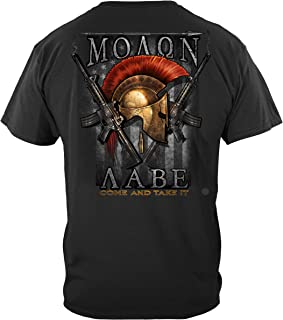 Erazor Bits 2nd Amendment T-Shirt 2nd Amendment Molon Labe T-Shirt RN2374