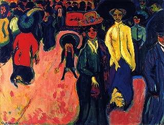 Odsan Gallery Street, Dresden - By Ernst Ludwig Kirchner - Canvas Prints 32