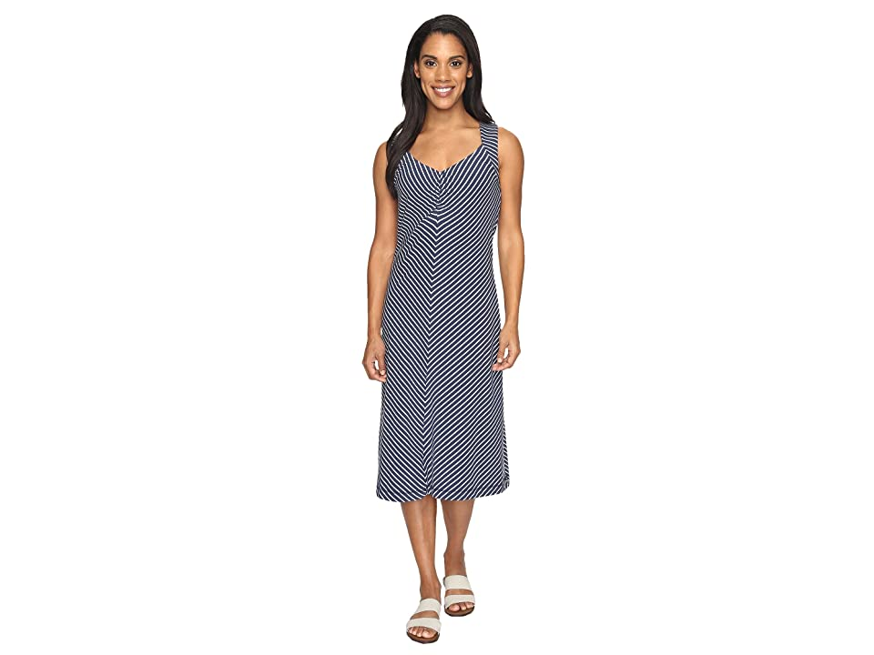 Royal Robbins Active Essential Stripe Dress (Navy) Women