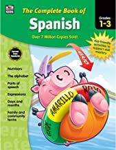 Carson Dellosa Complete Book of Spanish Workbook for Kids—Grades 1-3 Alphabet, Numbers,..