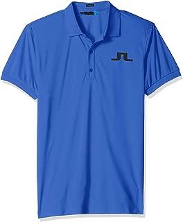 J.Lindeberg Men's Big Bridge Jersey Polo Shirt