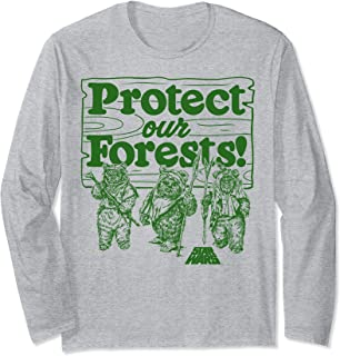 Star Wars Ewoks Protect Our Forests Camp Manche Longue