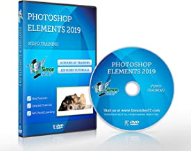 Photoshop Elements 2019 Self-Paced DVD Training Course By Simon Sez IT. Learn Photoshop Elements 2019
